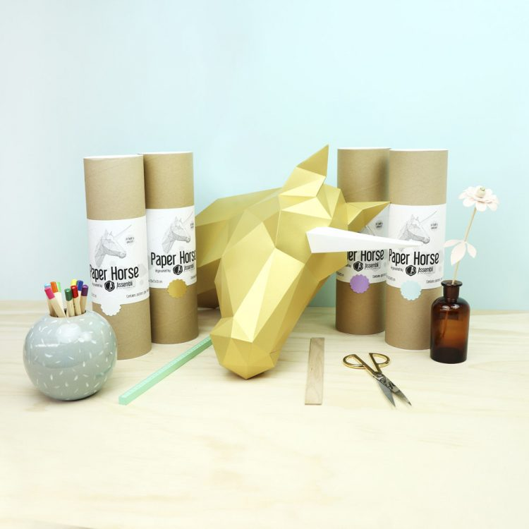unicorn-gold-satin-licorne-papier