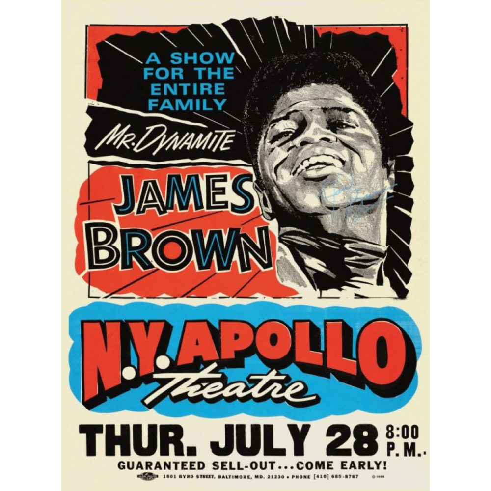poster-james-brown-concert-affiche