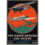 poster-vintage-dutch-swedish-avion