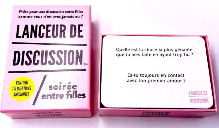 LANCEUR DE DISCUSSION FILLE