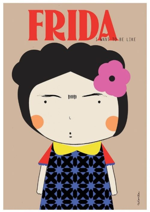 wall edition frida