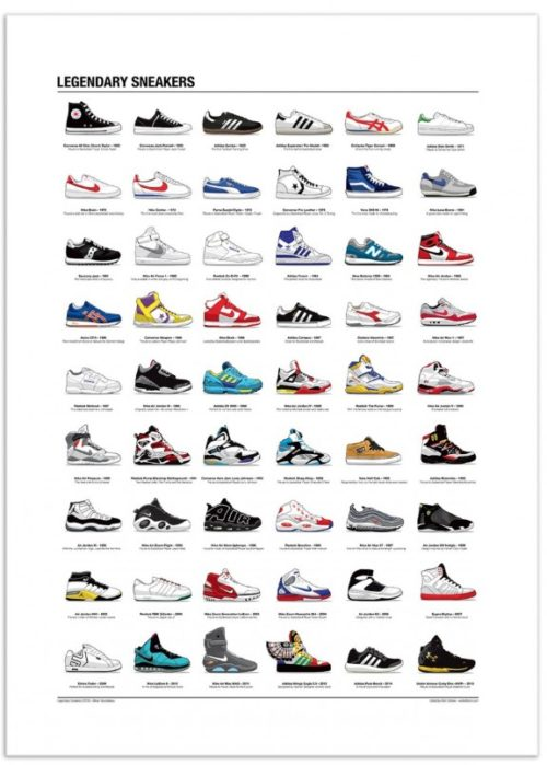 wall edition legendary sneakers